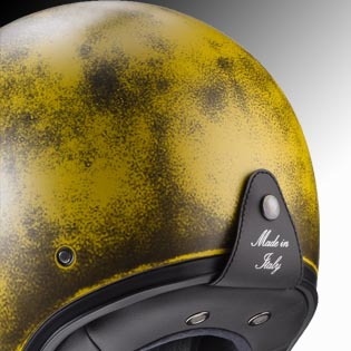 Caberg Freeride yellow at Chas Mann