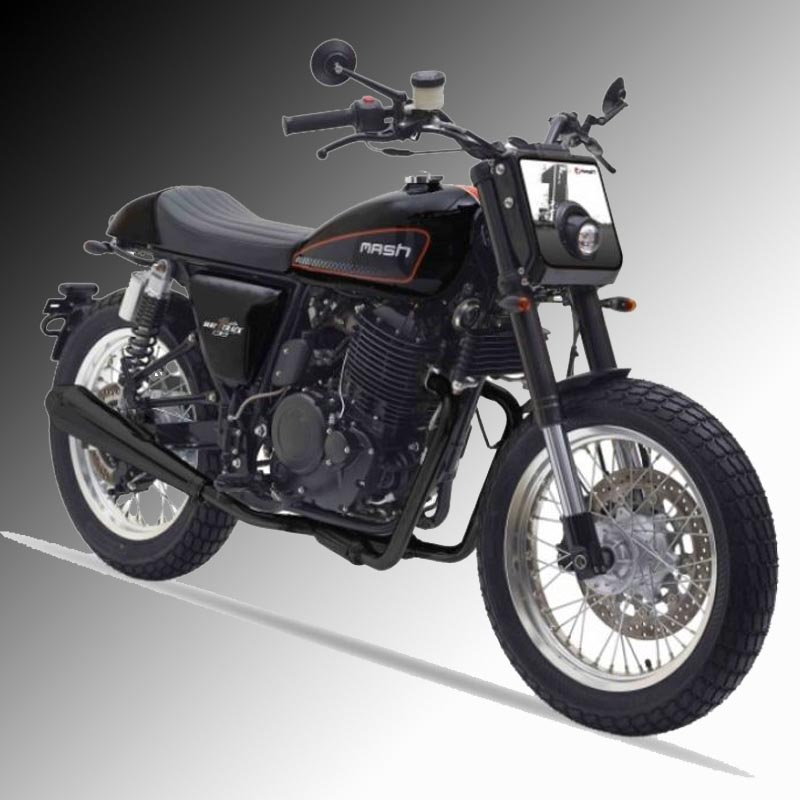 Mash Dirt Tracker 650cc Black £4,999 + otr
