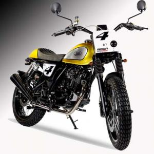 Mash Dirt Tracker 125cc Gold £2,699 + otr