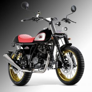 Mash Dirt Tracker 125cc Black £2,699 + otr