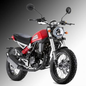 Mash Falcone 125cc Red £2,699 + otr