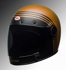Bell Bullit helmet black & gold at Chas Mann Motorcycles