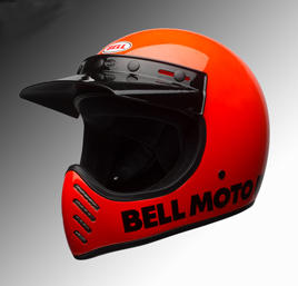 Bell Moto3 helmet red at Chas Mann Motorcycles