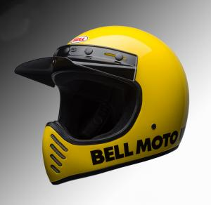 Bell Moto3 helmet yellow at Chas Mann Motorcycles