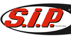 SIP logo 2 at Chas Mann Scooterista