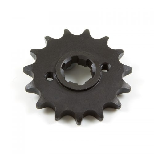 17343J01F000_1 Sprocket front (15 teeth) with flange for Keeway Superlight 125 at Chas Mann Superlight Centre