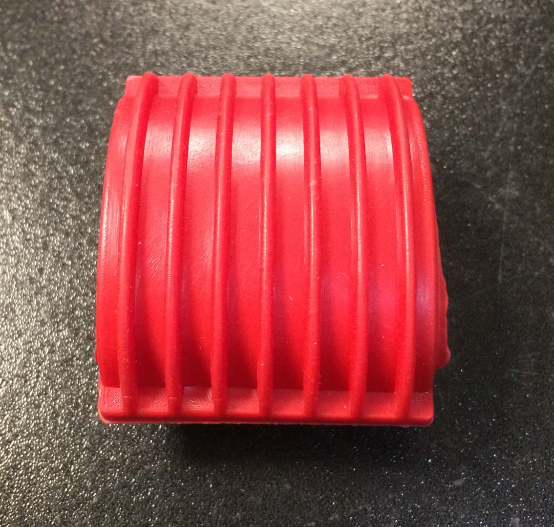 Kick start lever flat rubber red for Vespa PX