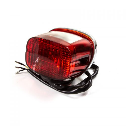 82000K2GP001 Rear light tail lamp unit (lens bulb surround & wire) for Keeway Superlight 125 at Superlight Centre