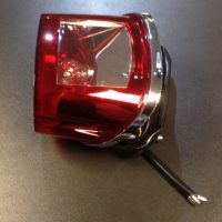 Rear light / tail lamp unit (lens bulb surround & wire) for Keeway Superlight 125