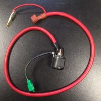 Starter relay (with coupler & assembly with rubber cover) for Keeway Superlight 125 (with headlights off switch)