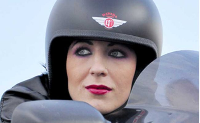 Davida Open Face Helmets at Chas Mann Motorcycles