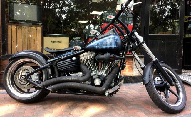 Harley Davidson Rocker C with stage 3 tuning at Chas Mann Motorcycles (2)