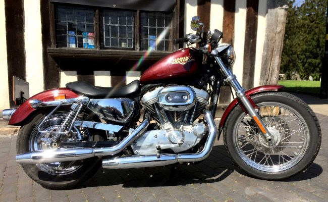 Harley Davidson Sportster 883 at Chas Mann Motorcycles (2)