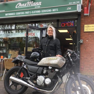 Every mum should have a cafe racer