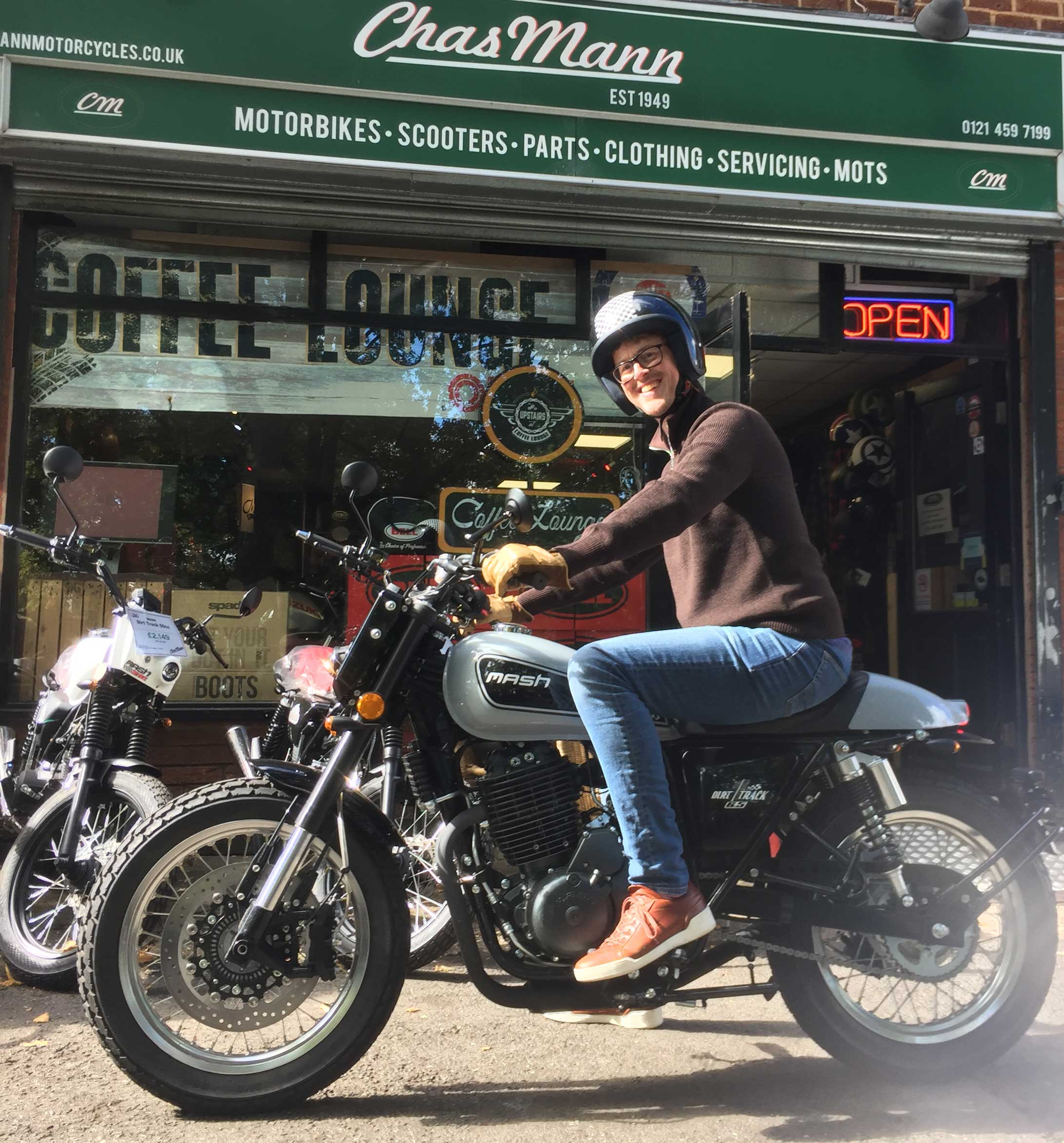 First Midlands test ride of Mash 650 - ever