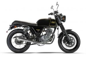 MASH Black-7 café racer euro 4 specification for £2,299 + otr fees