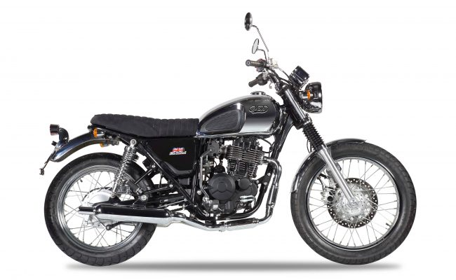 Mash Roadstar 400 Chrome at Chas Mann Motorcycles