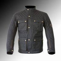 Merlin Heritage Armitage wax jacket at Chas Mann Motorcycles Gradient resized