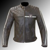 Merlin Heritage Derrington leather jacket at Chas Mann Motorcycles 2