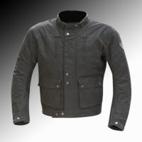 Merlin Heritage Milwich CX4 wax motorcycle jacket at Chas Mann Motorcycles (2)