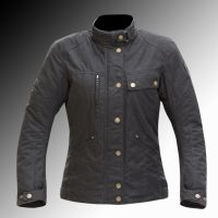 Merlin Heritage Tutbury C4X waxed armoured motorcycle jacket at Chas Mann Motorcycles
