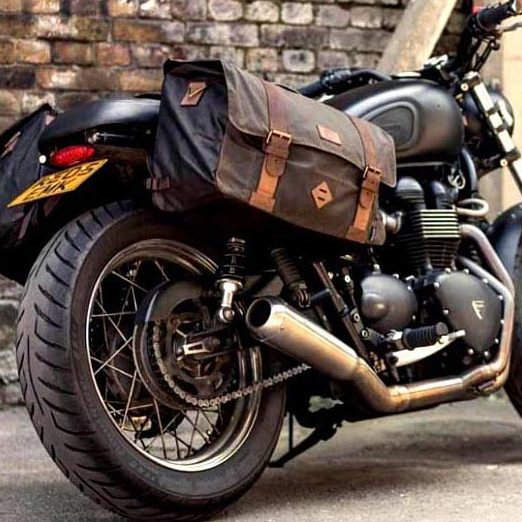 Merlin Retro Motorcycle luggage