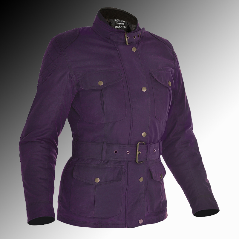 Oxford Heritage Bradwell Armoured Wax Motorcycle Jacket