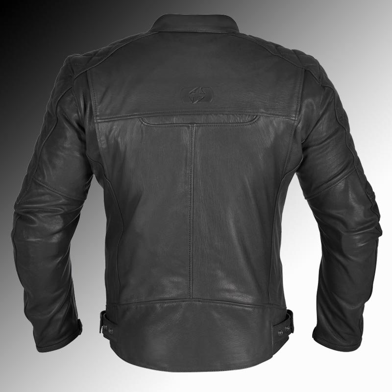 84d9d44f9 Oxford Heritage Route 73 leather motorcycle jacket black (Men's)