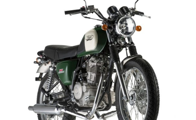 Roadstar Highland Green at Chas Mann Motorcycles 2