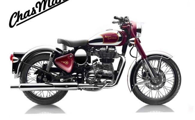 Royal Enfield Classic 500 Chrome at Chas Mann Motorcycles