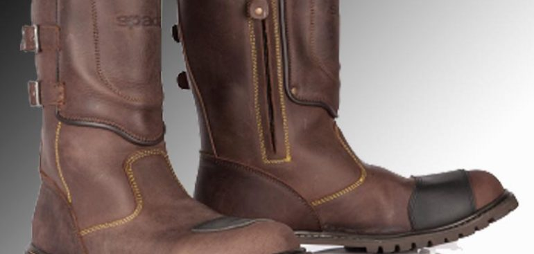 Spada Foundry Men/'s Fit Motorcycle Motorbike All Weather Boot